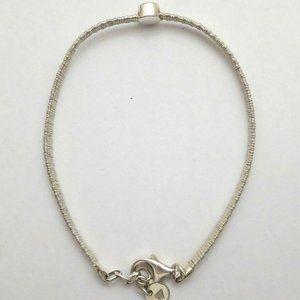 Silpada Sterling Silver Wire Wrapped Bracelet CZ